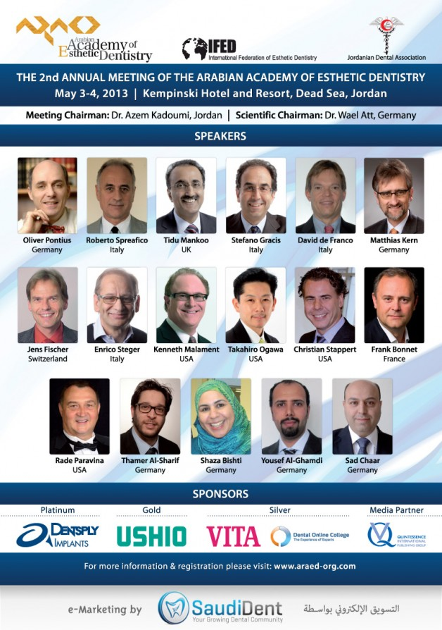 2nd Annual Meeting of the Arabian Academy of Esthetic Dentistry