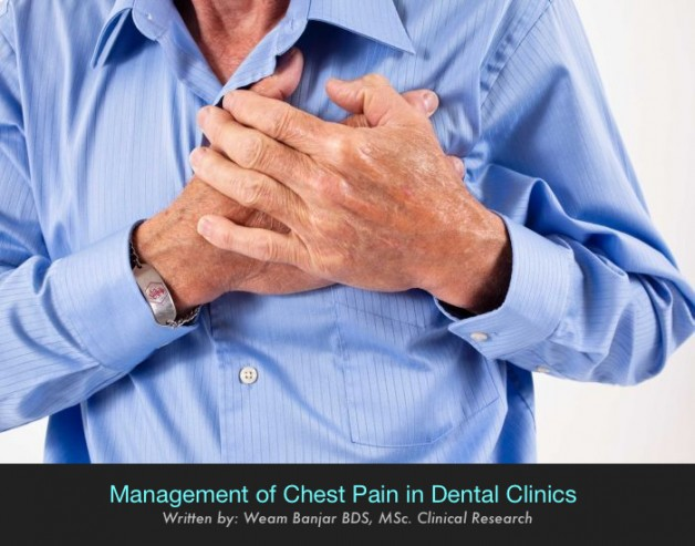 Management of Chest Pain in Dental Clinics