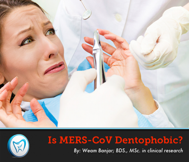 Is MERS-CoV Dentophobic?