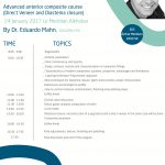 Advanced anterior composite course (Direct Veneer and Diastema closure)