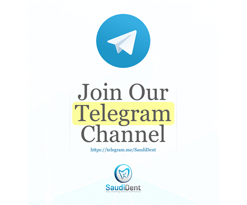 Join Our Telegram Channel – SaudiDent
